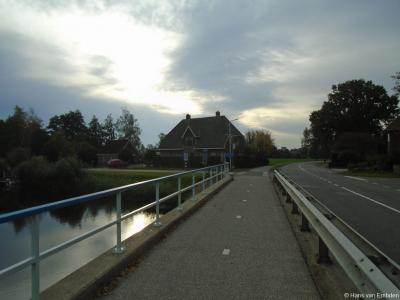 Buurtschap Marle onder het dorp Hellendoorn, Hammerweg hoek zuidelijke Kanaalweg