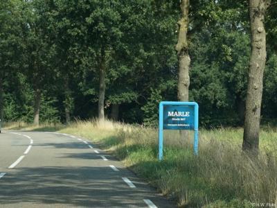Marle is een buurtschap in de provincie Overijssel, in de streek Salland, gemeente Hellendoorn. De plaatsnaam wordt kennelijk in 987 voor het eerst in de archieven vermeld, want dat staat op het plaatsnaambord.