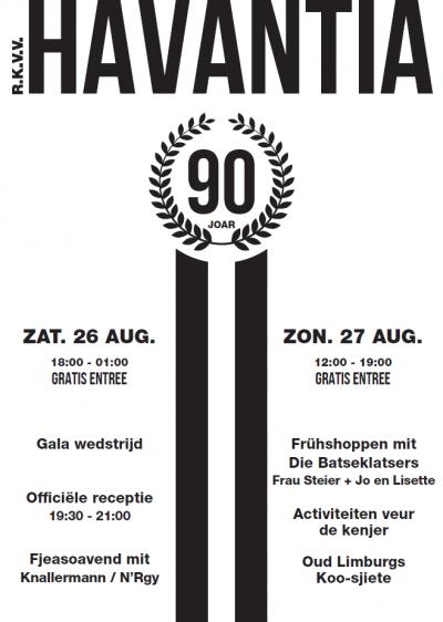 De in 1927 opgerichte voetbalvereniging RKVV Havantia uit Meers heeft in 2017 het 90-jarig bestaan gevierd. Helaas heeft men kort erna moeten besluiten om de vereniging per 1-7-2018 op te heffen. Hoe dat zit, kun je lezen onder het kopje Links, Sport.