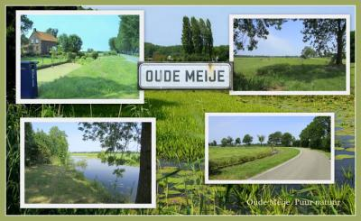 Oude Meije is een apart watertje en buurtje, helemaal aan het eind van het kilometerslange dorp en de ook lange waterloop Meije, vanuit Bodegraven gezien. Ook hier volop rust, ruimte en natuur. (© Jan Dijkstra, Houten)