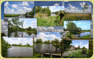 Zeer aanbevelenswaard om te wandelen of fietsen langs het kilometerslange meanderende riviertje de Meije, langs het gelijknamige dorpje tussen Woerdense Verlaat en Zwammerdam. Je kijkt je ogen uit qua natuur en monumentale panden. (© Jan Dijkstra, Houten)