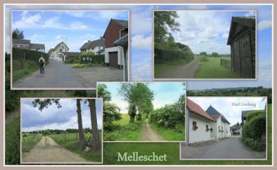 Melleschet, collage van buurtschapsgezichten (© Jan Dijkstra, Houten)