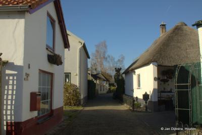 Leuk straatje die Wilhelminazijstraat in Meteren.