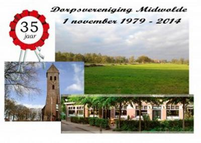 Dorpsvereniging Midwolde is opgericht in 1979