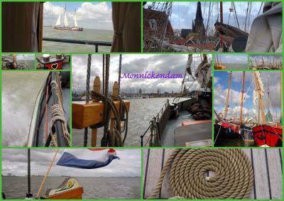 Monnickendam, collage van stadsgezichten (© Jan Dijkstra, Houten)