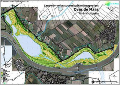 Project Over de Maas bij Moordhuizen is een mooi voorbeeld van integrale gebiedsontwikkeling met win-wins: er wordt zand gewonnen, de waterbeheersing wordt verbeterd, er wordt nieuwe natuur ontwikkeld en er komen fiets- en wandelmogelijkheden.