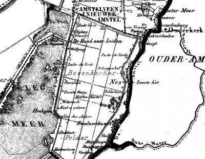 Tot medio 19e eeuw was het huidige dorp Nes aan de Amstel nog verdeeld in diverse kerntjes waaronder Nes en Zwaluwenbuurt. De naam van die laatste leeft nog voort in de naam van basisschool De Zwaluw.