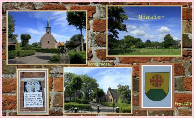 Niawier is een dorp in de provincie Fryslân, gemeente Noardeast-Fryslân. T/m 1983 gemeente Oostdongeradeel. In 1984 over naar gemeente Dongeradeel, in 2019 over naar gemeente Noardeast-Fryslân. (© Jan Dijkstra, Houten)