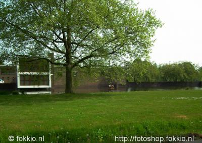 Nietap, het waterpompstation aan de J.P. Santeeweg is een van de grootste en modernste van Nederland