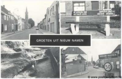 Nieuw-Namen Groeten uit Hulsterloostraat Reinaertbank De Groeve De Grens
