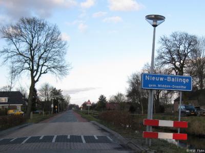 Nieuw-Balinge is een dorp in de provincie Drenthe, gemeente Midden-Drenthe. T/m 1997 gemeente Westerbork.