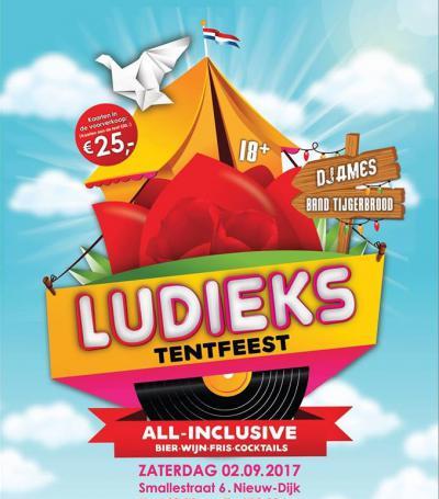LuDieks Tentfeest in het dorp Nieuw-Dijk bij Didam is een jaarlijks terugkerend all inclusive feest (op een zaterdag begin september) voor jong en ouder.