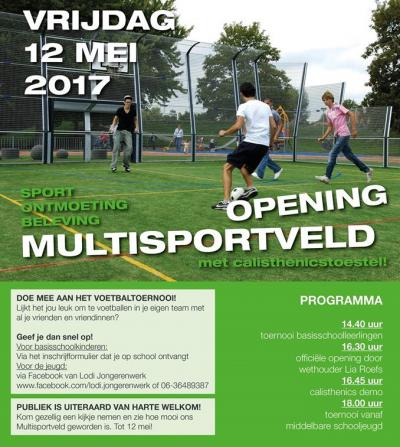 In 2017 is een Multisportveld aangelegd aan de Paulus Potterstraat / Schilderslaan in Nieuw Bergen. Er kunnen de volgende sporten worden beoefend: voetbal, handbal, hockey, volleybal, basketbal en fitness.