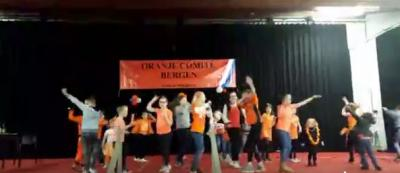 Oranjecomité Bergen organiseert op Koningsdag allerlei sport- en spelactiviteiten voor jong en ouder