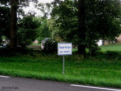 Nieuw Milligen is een buurtschap van het dorp Uddel in de gemeente Apeldoorn. De buurtschap ligt buiten de bebouwde kom en heeft daarom witte plaatsnaamborden.