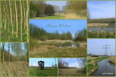 Even ten N van Houten ligt het natuurgebied Nieuw Wulven. Tot het water de Zijgraaf valt het onder de gemeente Houten, N daarvan ligt het op het grondgebied van de gemeente Bunnik.