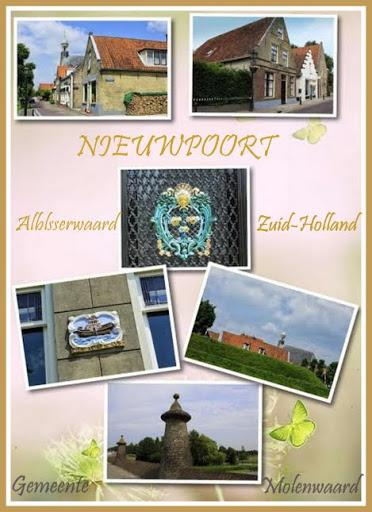 Nieuwpoort, collage stadsgezichten (© Jan Dijkstra, Houten)
