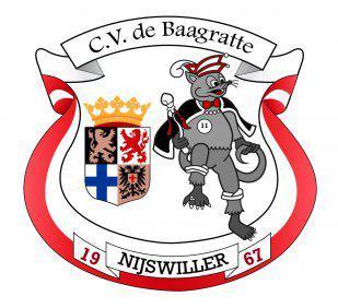 Carnavalsvereniging CV De Baagratte uit Nijswiller is opgericht in 1967. En ze hebben niet in 2017 het 50-jarig bestaan gevierd. In de carnavalswereld rekenen ze nl. met eenheden van 11 jaar voor jubilea. Dus deze club is in 2022 aan de beurt.