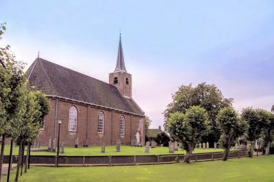 Burum, gemeente Noardeast-Fryslân (© Jan Dijkstra, Houten)