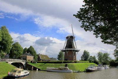 Dokkum, gemeente Noardeast-Fryslân (© Jan Dijkstra, Houten)