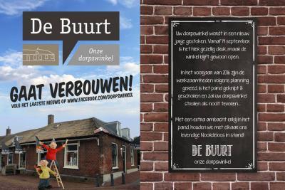 Jaantje stopt in 2013 met haar Winkel van Jaantje in Noordeloos, want ze is dan 83 en dan mag je ook wel eens van je pensioen gaan genieten. Gelukkig zijn er net op tijd opvolgers gevonden. Het is nu dorpswinkel De Buurt met, sinds 2016, ook De Kapperij.