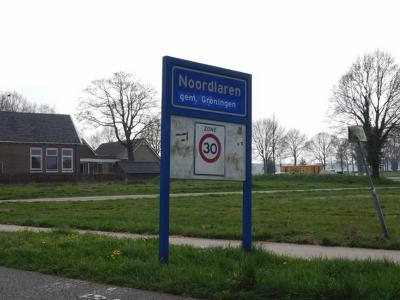 Noordlaren is een dorp in de provincie Groningen, in de streek Hondsrug, gemeente Groningen. T/m 2018 gemeente Haren. (© H.W. Fluks)
