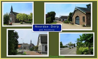 Noordse Dorp is een piepklein, maar bezienswaardig dorp bij het dorp Noorden (© Jan Dijkstra, Houten)