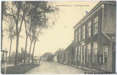 Noordwelle dorpsgezicht 1945