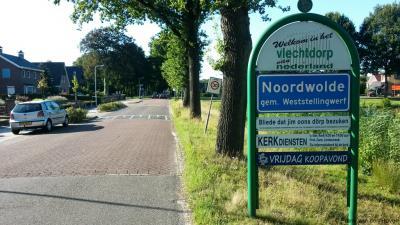 In Noordwolde word je hartelijk welkom geheten ...