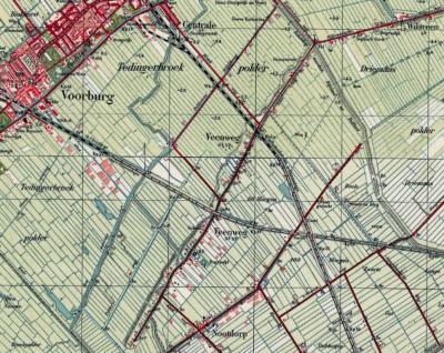 Vanaf de jaren dertig wordt de hele bebouwing aan de Veenweg in de atlassen als buurtschap Veenweg betiteld, dus ook het Z deel.