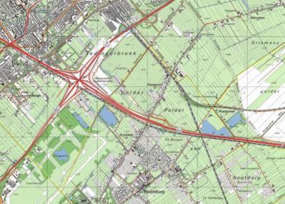 In de jaren '70 verschijnen in de atlassen plots de buurtschapsnamen Haagoord voor de N bebouwing aan de Veenweg, en Gooland voor het deel Z van de A12; het laatste blijkt alleen betrekking te hebben op een wijkje van 17 villa's aan de gelijknamige weg.