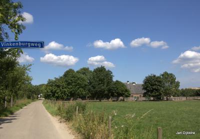 In de toekomst een straat in de nieuwe Odijkse buurtschap Het Burgje?