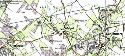 In 1990 volgt er nog een rondje kleine grenscorrecties. Zie o.a. de 'schuine rechte streep' als nieuwe grens. De Oenselderhof gaat nu naar gemeente Meerssen en daarmee kern Ulestraten. Maar het blijft natuurlijk een Oensels object...