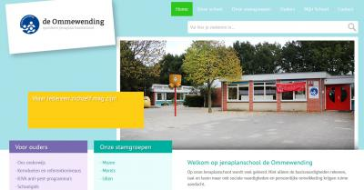 Basisschool De Ommewending in Ommelanderwijk is een heel bijzondere school. Zo kennen ze er kids' skills en parents' skills, is er een hulphond, lopen er kippen in de patio, is het een Vreedzame School en is er in '17 een 'groen schoolplein' gerealiseerd.
