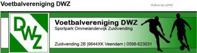 Als je als twee kleine dorpen tegen elkaar aan ligt, kun je beter zo veel mogelijk voorzieningen delen. Zo waren ze in Ommelanderwijk en Zuidwending in 1931 al zo slim om de twee  voetbalclubjes op te heffen en er een sterke vereniging van te maken: DWZ.
