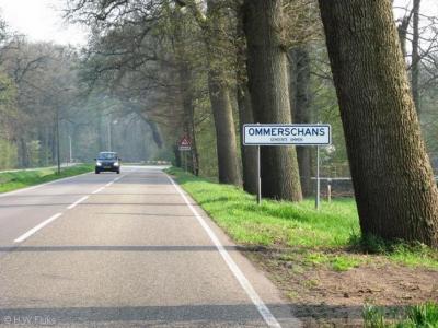 Ommerschans is een buurtschap in de provincie Overijssel, in de streek Salland, gemeente Ommen.