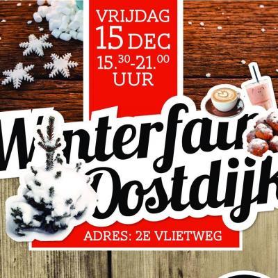 Op vrijdag 15 december 2017 was er de 1e editie van de Winterfair Oostdijk; ca. 40 kramen waar van alles te zien, te doen, te koop en te eten is. Hopelijk was het een zodanig succes dat het een jaarlijkse traditie wordt.