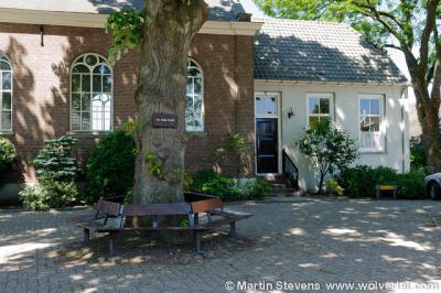 Oosterwijk, kerkplein