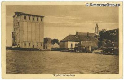 Oost-Knollendam, ansichtkaart uit begin 20e eeuw