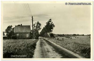 Oost-Knollendam, ansichtkaart uit ca. 1960
