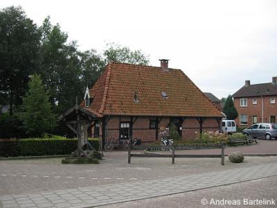Ootmarsum, ingang van Openluchtmuseum Ootmarsum op de hoek Smithuisstraat/Oldenzaalsvoetpad