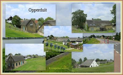 Opperduit, collage van buurtschapsgezichten (© Jan Dijkstra, Houten)