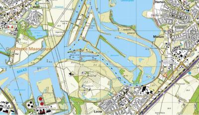 Vandaag de dag, 100 jaar later. De Lus van Linne is onherkenbaar veranderd; grotendeels afgegraven en onderdeel geworden van de Maasplassen, Kasteel Osen is afgebroken en er is een buurtschapje Osen ontstaan met en tussen Sluis Linne en Sluis Heel.