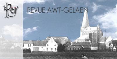 Kommitee Revu Awt-Gelaen (KRA-G) brengt iedere twee jaar, in de even jaren, in april een nieuw stuk op de planken in het Hubertushuis in Oud-Geleen. Wat daar allemaal bij komt kijken voor het zover is, kun je lezen onder het kopje Jaarlijkse evenementen.