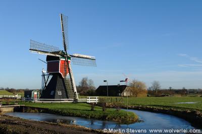 Oud-Zuilen, de Buitenwegse Molen hier nog in volle glorie vóór de fatale brand van 15-3-2016.
