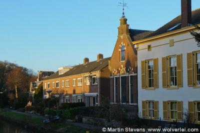 Oud-Zuilen, voormalig gemeentehuis (tweede huis van rechts)