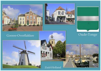 Het dorp Oude-Tonge behoort tot de zogeheten 'kerkring-voorstraatdorpen'. Wat dat inhoudt, kun je lezen onder de links in het hoofdstuk Geschiedenis. (© Jan Dijkstra, Houten)