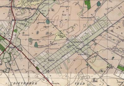 Tegenwoordig is Oude Willem een landbouwenclave te midden van het bosgebied Drents-Friese Wold, zoals hierboven goed te zien is. Op deze kaart uit ca. 1930 is te zien dat het oorspronkelijk omringd was door de eindeloze heidevelden van het Dieverderveld.