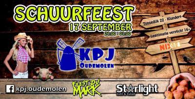 KPJ Oudemolen organiseert door het jaar heen diverse evenementen in en om de buurtschap, zoals het jaarlijkse Schuurfeest op een zaterdag in september.