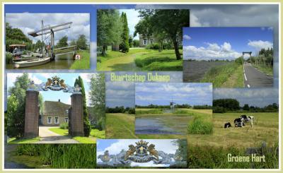 Oukoop is een buurtschap in de provincie Zuid-Holland, gemeente Bodegraven-Reeuwijk. Het is in de 19e eeuw een zelfstandige gemeente geweest en heeft ook nog onder de gemeenten Waarder, Hekendorp, Driebruggen en Reeuwijk gevallen. (© Jan Dijkstra, Houten)
